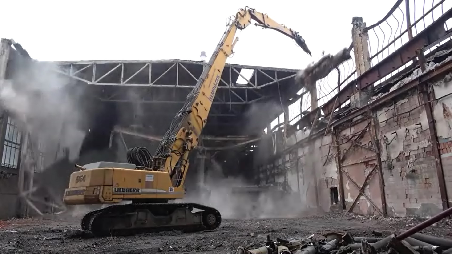 Demolition of the pickling plant in the area of ŽDB DRÁTOVNA a.s.